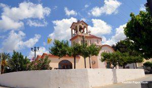 Ο ιερός ναός της Υπαπαντής στην Αυλή Ηρακλείου.